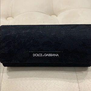 DOLCE & GABBANA  eyeglass/sunglasses case